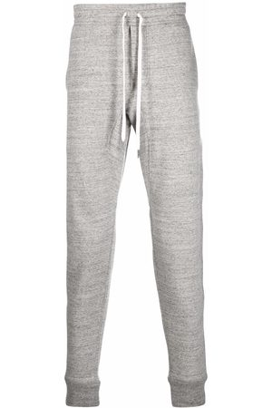 Tom Ford Men Sweatpants - Drawstring track pants - Grey
