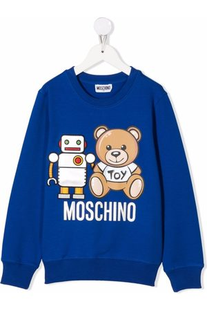 Moschino Boys Hoodies - Teddy Bear-print sweatshirt