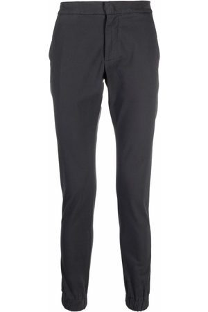 Dondup Skinny cotton trousers - Grey