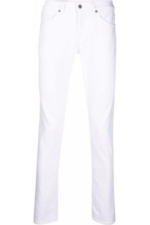DONDUP Cotton skinny trousers