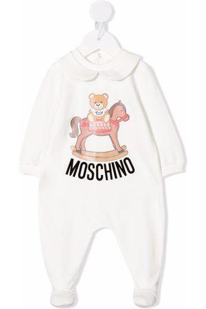 Moschino Teddy Bear-print pajama