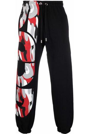 GCDS Men Sweatpants - Logo-print cotton track pants
