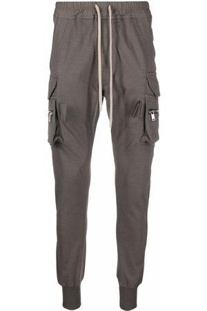 Rick Owens Mastodon cargo pocket trousers - Grey