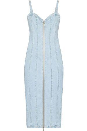 ROTATE Women Jeans - Kayla zip up denim dress