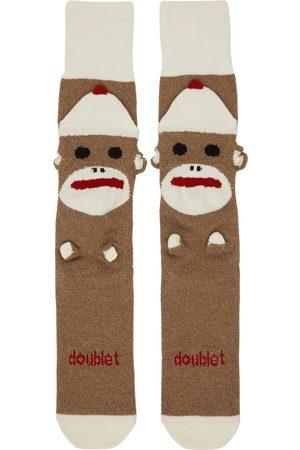 DOUBLET Men Socks - Knit Sockmonkey Socks