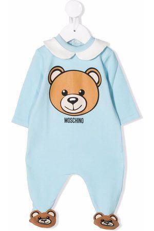 Moschino Pajamas - Teddy Bear-slipper logo pyjamas
