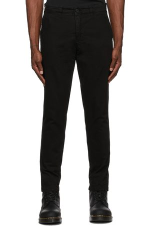 Belstaff Men Chinos - Black Officers Chino Trousers