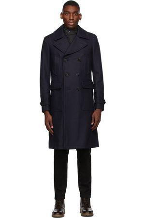 Belstaff Navy Wool New Milford Coat