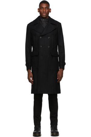 Belstaff Black Wool New Milford Coat