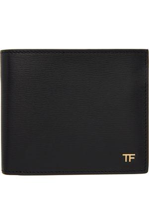 Tom Ford Men Wallets - Black 'TF' Bifold Wallet