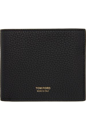 Tom Ford Black Grained Bifold Wallet
