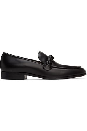 Gianvito Rossi Men Loafers - Black Suede Belem Loafers