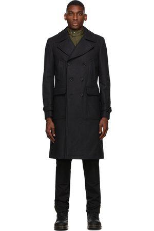 Belstaff Grey Wool New Milford Coat