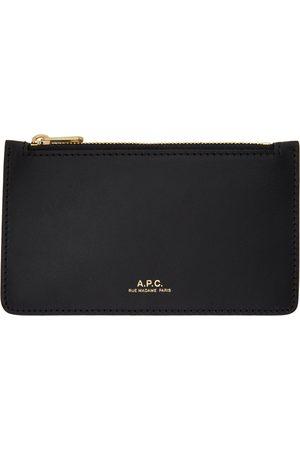 A.P.C. Women Wallets - Black Willow Card Holder