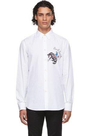 Paul Smith Men Shirts - White Cowboy Shirt