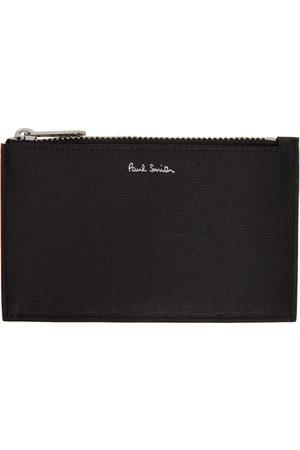 Paul Smith Men Wallets - Multicolor Signature Stripe Zip Card Holder