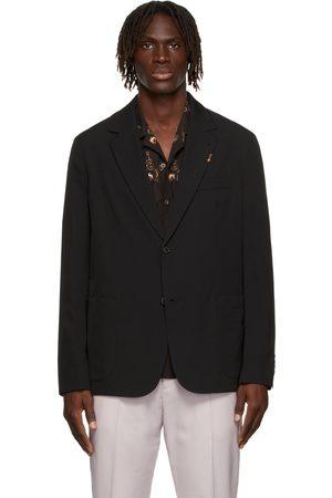 Paul Smith Navy Wool Tailored Blazer