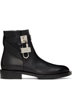 Givenchy Women Boots - Black Padlock Boots