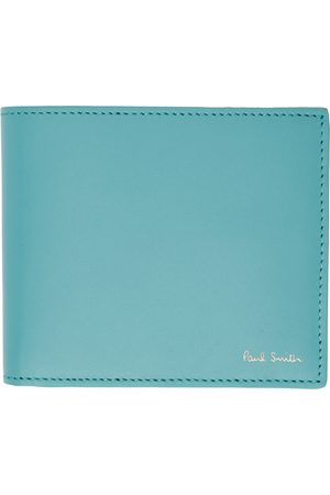 Paul Smith Blue Signature Stripe Bifold Wallet
