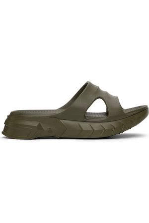 Givenchy Men Sandals - Green Marshmallow Sandals