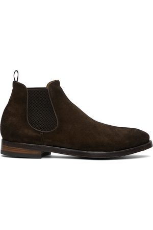 Officine creative Brown Providence 3 Chelsea Boots