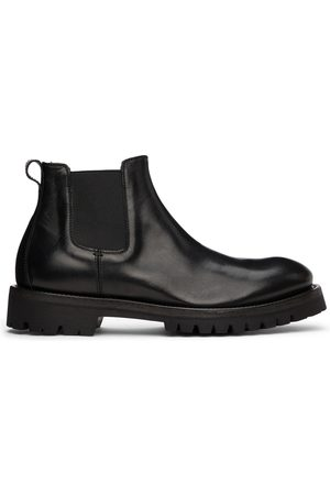Officine creative Black Issey 1 Chelsea Boots