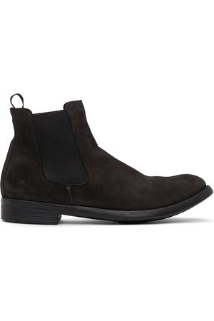 Officine creative Suede Hive 7 Chelsea Boots