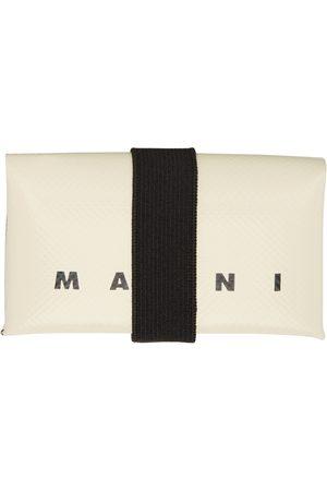 Marni Beige PVC Origami Card Holder