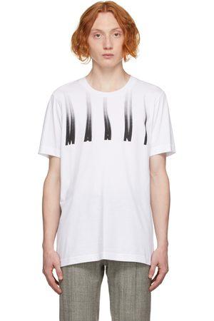 Marni White Distorted Logo T-Shirt