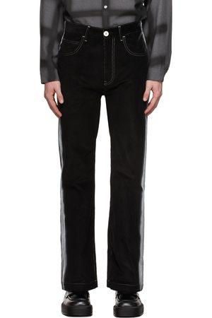 Marni Black Corduroy Airbrushed Trousers