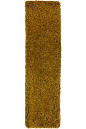 Marni Men Scarves - Yellow Faux-Fur Scarf