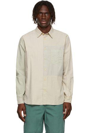 Paul Smith Off-White Mix-Up Stripe Shirt