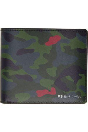 Paul Smith Men Wallets - Multicolor Camo Bifold Wallet