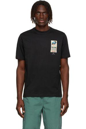 Paul Smith Men T-shirts - Black Matchbook T-Shirt