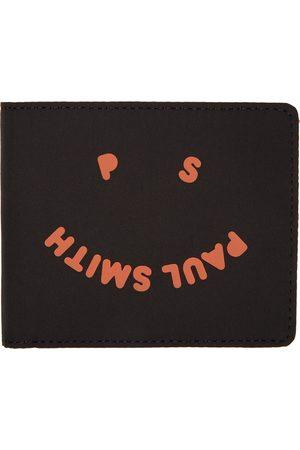 Paul Smith Black Canvas Happy Wallet