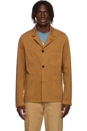 Paul Smith Tan Convertible Collar Jacket