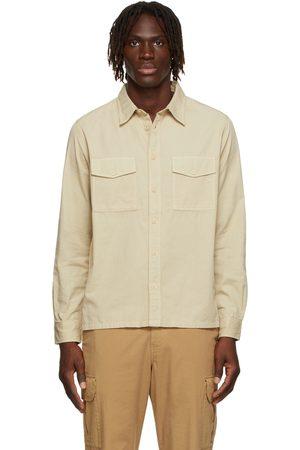 Paul Smith Men Shirts - Beige Patch Pocket Shirt