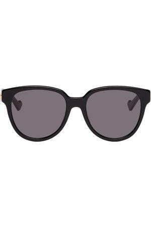 Gucci Men Square - Black Square Interlocking G Sunglasses