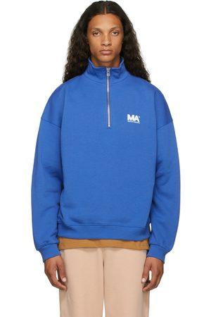 M.A. Martin Asbjorn Blue Turtleneck 'MA' Sweatshirt