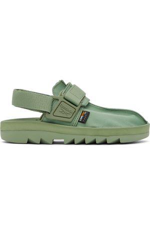 Reebok Men Sandals - Green Canvas Beatnik Sandals