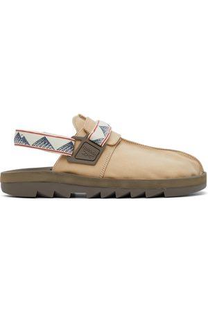 Reebok Men Sandals - Beige & Brown Canvas Beatnik Sandals