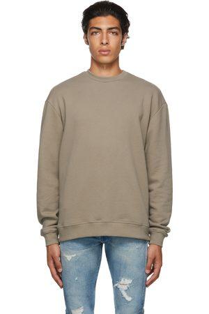 JOHN ELLIOTT Men Sweatshirts - Taupe Oversized Sweatshirt