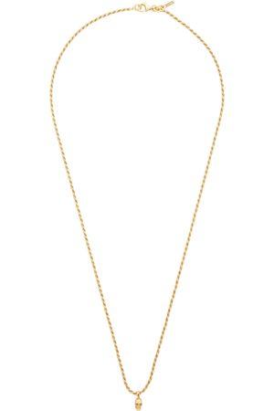 EMANUELE BICOCCHI Men Necklaces - SSENSE Exclusive Mini Skull Necklace