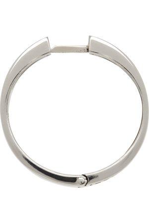 EMANUELE BICOCCHI Men Hoop - Engraved Hoop Single Earring