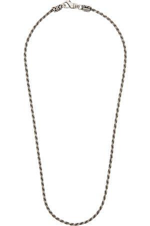 EMANUELE BICOCCHI Men Necklaces - SSENSE Exclusive Birdcage Knot Necklace
