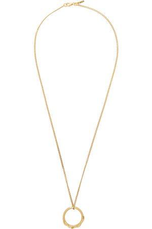 EMANUELE BICOCCHI SSENSE Excluisve Flame Dagger Ring Necklace