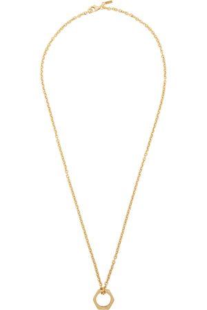 EMANUELE BICOCCHI Men Necklaces - SSENSE Exclusive Hexagonal Ring Necklace