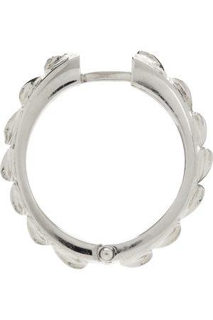EMANUELE BICOCCHI Engraved Hoop Single Earring
