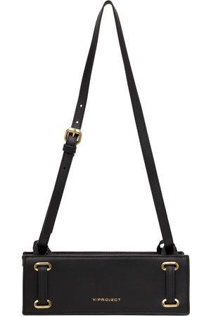 Y / PROJECT Men Luggage - Mini Accordion Baguette Messenger Bag
