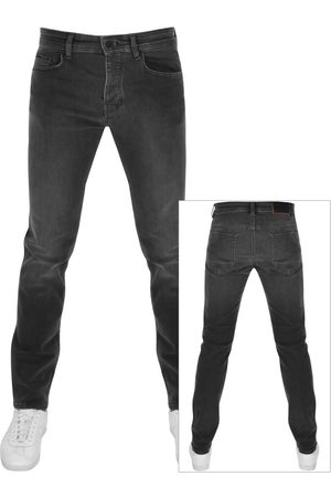 HUGO BOSS BOSS Taber Tapered Fit Jeans Grey